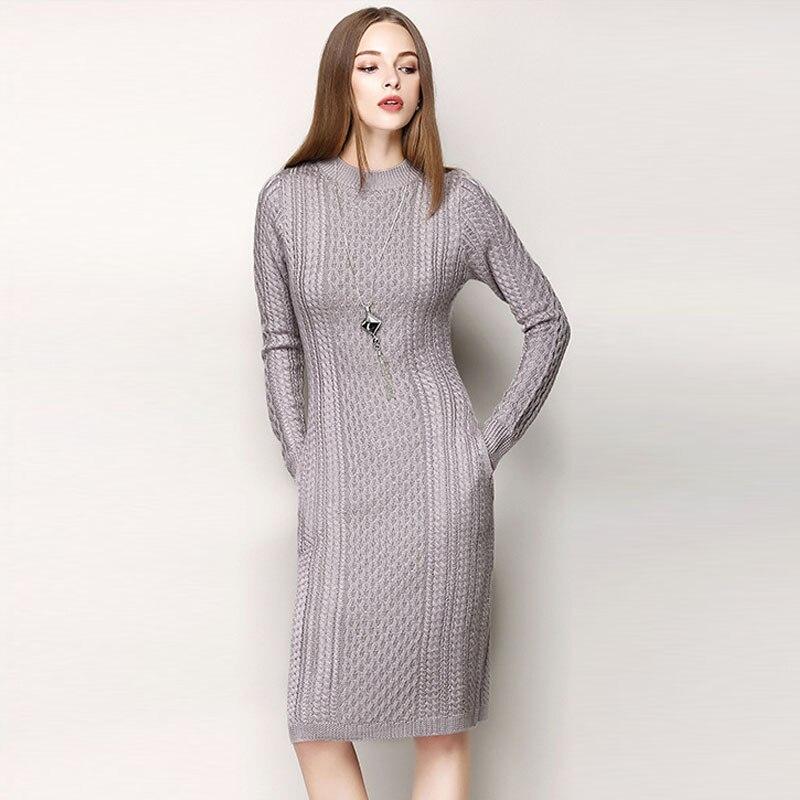 Popular Long Sweater Dress-Buy Cheap Long Sweater Dress lots from ...