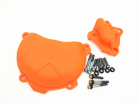 Clutch Cover Protection Cover Water Pump Cover Protector For KTM 350 EXC F 2012 2016
