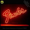 Neon Zeichen für Größere Fender Neon Lampen zeichen Musik Lampen handwerk Glas rohre Schmücken Bier Wand Zimmer zeichen gemacht zu auftrag|Neonröhren & Röhren|Licht & Beleuchtung -