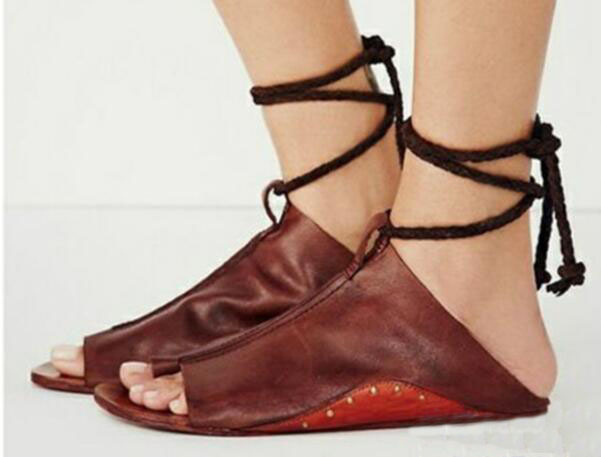 zapatos mujer summer sandals women flats ladies shoes woman ankle strap wedding chaussure femme 2018 lace up P170567 1