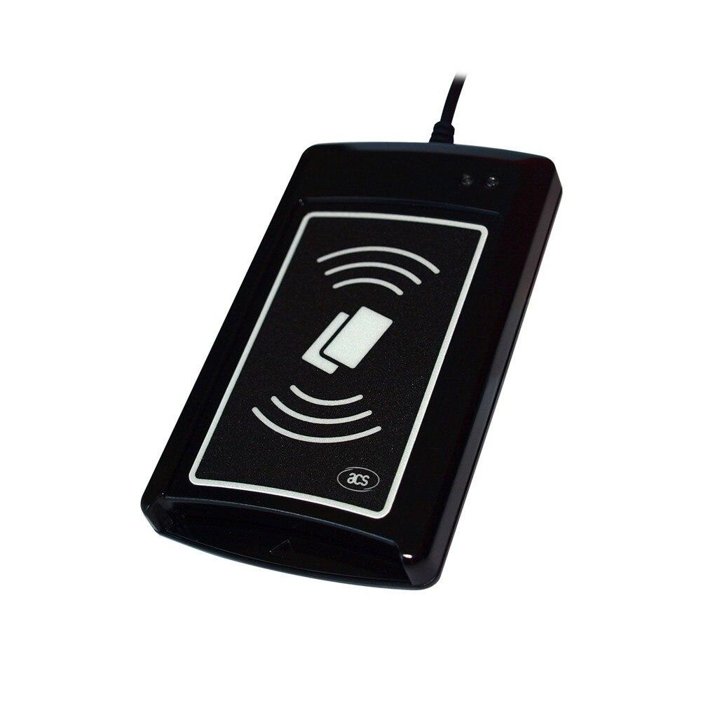 ACR120U wersja do aktualizacji ACR1281U C8 USB czytnik RFID + SDK + 2 sztuk MF1 S50 karty w Czytniki kart kontrolnych od Bezpieczeństwo i ochrona na AliExpress - 11.11_Double 11Singles' Day 1
