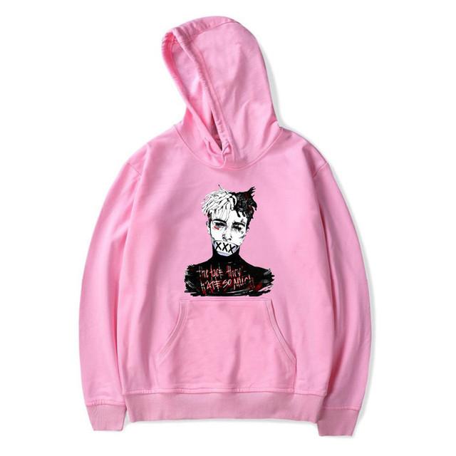 Newest Revenge Hoodie Men Hip Hop xxxtentacion hoodies women sweatshirt Rapper Causal clothing