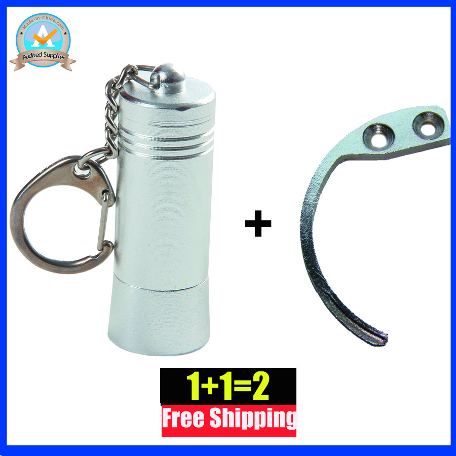 Key Detacher Eas Stop Lock Tag Remover Eas Tag Lockpick Unlocker+1piece Mini Hook Detacher Handheld Remover For  AM Alarm Tag