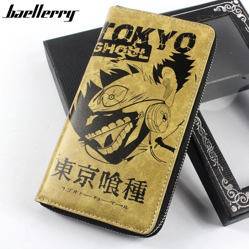 2017 New Creative Commemorate Tokyo Ghoul Wallet Anime Cartoon PU Leather Wallet N054 zshop anime tokyo ghoul wallet