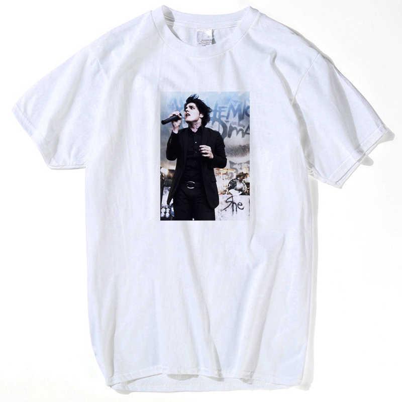 パンクシャツマイ · ケミカル · ロマンス Tシャツ男性トップス 2019 トップス男性おかしい tシャツホット販売ヒップホップストリートプラスサイズ