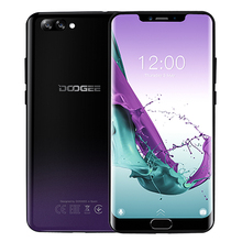 DOOGEE Y7 Plus CellPhone 6.18inch 1080*2246 Screen MTK6757 Octa-Core 2.5GHz 6GB RAM 64GB ROM 16.0MP+13.0MP 5080mAh Android 8.1(China)