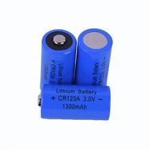 2018 CR123A/CR17335 1300 mAh 3,0 V li-ion Батарея литиевые первичные & Dry батареи