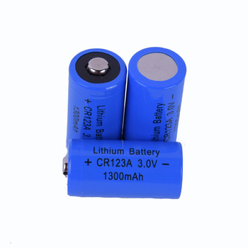 2018 CR123A/CR17335 1300mAh 3.0V Li-ion Battery Lithium Primary Dry Batteries
