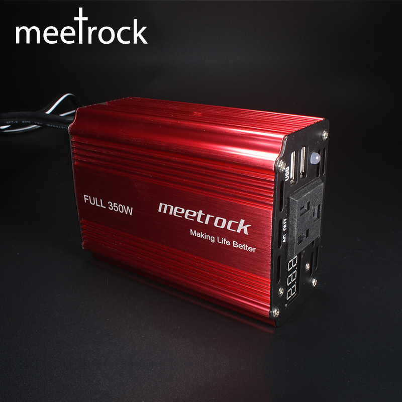 цена на 350W Car Inverter 12v 220v 50Hz Convertisseur 12v 220v Auto Inverter 12 220 Car Power Inverter Lighter Inverter