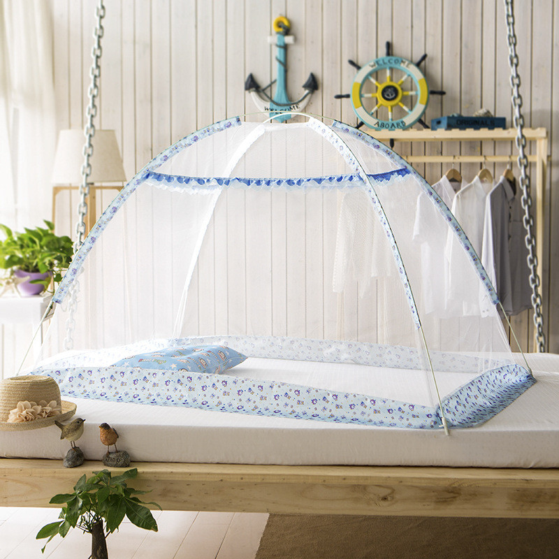 Free-installation Baby Bedding Crib Netting Travel Anti-mosquito Baby Tent Summer Folding Baby Mosquito Nets 2 Sizes Insect Net