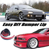 NOVOVISU Bumper Lip Deflector Lips For Mazda 323 Familia Allegro Areis Protege Etude Front For Car Tuning / Body Kit Wing