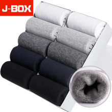 J-BOX 2019 Size 10pcs/lot Cotton Crew Socks Business Style Comfortable Soft