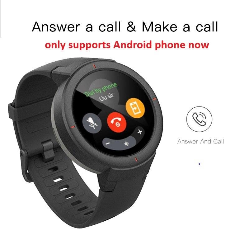 Montre intelligente AMOLED 1.3 pouces à cadran et réponse aux appels avec capteur HR amélioré montre intelligente GPS-in Montres connectées from Electronique    3