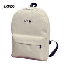 fashion Backpacks for adolescent girls canvas School backpack for boy embroidery school bags sun Children's bags