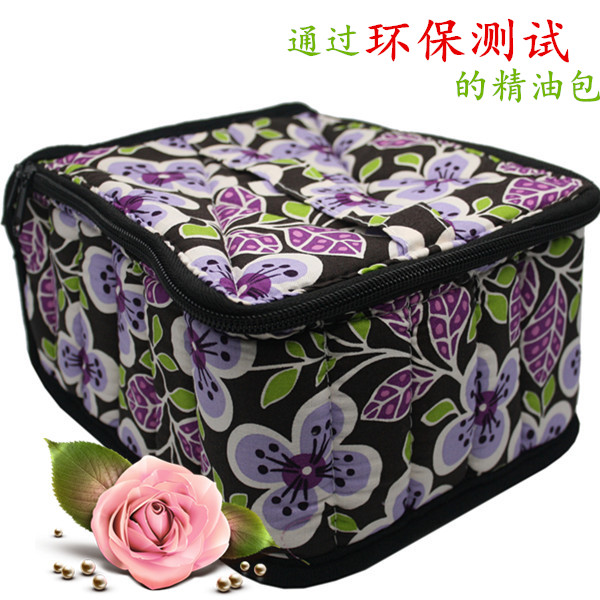 30-Bottle Essential Oil Case Perfect Essential Oils Bag for Traveling Sturdy Double Zipper Contain 10ml,15ml,30ml Bottles 4H nyx studio perfect 30ml