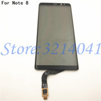 New Touchscreen 6.3 For Samsung Noter 8 Touch Screen Digitizer Glass Panel For Samsung Galaxy Note 8 Note8 N950 Touch Panel