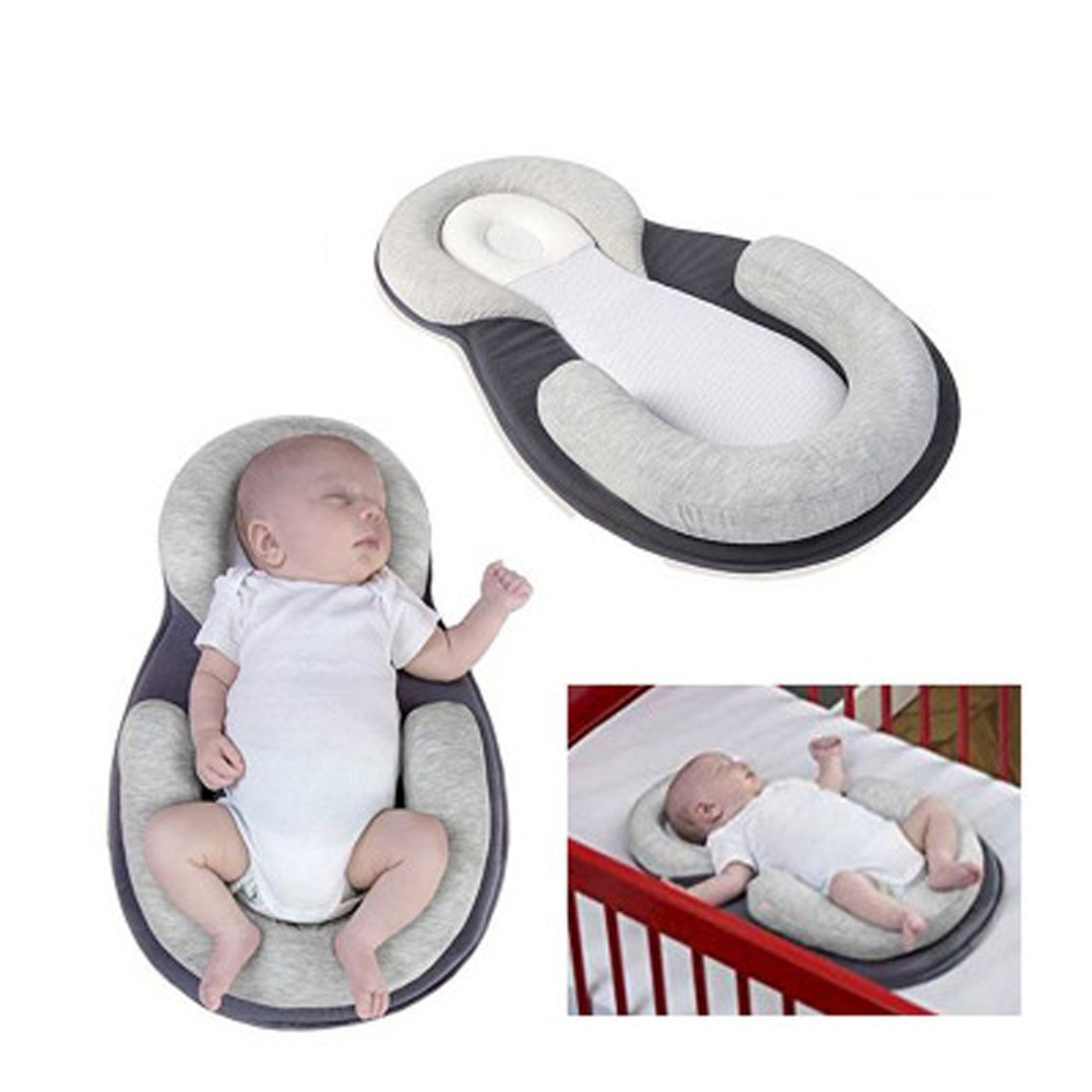 Portable Baby Bed Soft Baby Nest Bedding Crib Babynest Bed Infant Nets Cradle Cot Bed Mattress Pillow 3 In 1 Suit For 0-3 Year