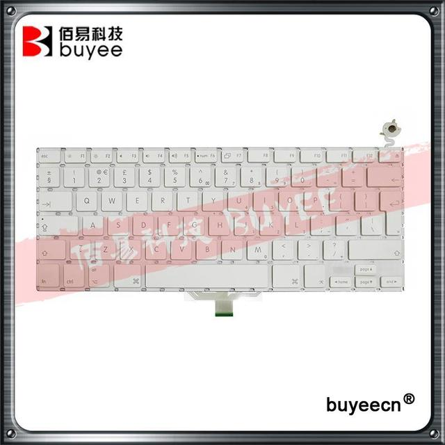 A1181 UK Keyboard For Macbook Air A1181 A1185 English Keyboard White Black Replacement