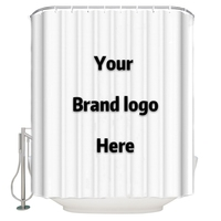 Customized your own design shower curtain Ployester Shower Curtain lego Waterproof Shower Curtain 66 X 72