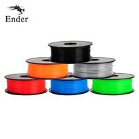 Hot Red/Orang/Black/Blue/Gray/Green color option 3d printer filament PLA/ABS 1.75mm 1KG/Roll for 3D printer or 3D pen