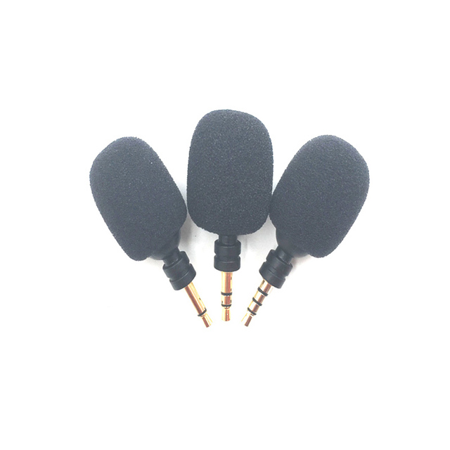 Accessories Mini Mono/ Stereo/ 3.5mm Aux Flexural Bendable Recording Microphone 3.5MM