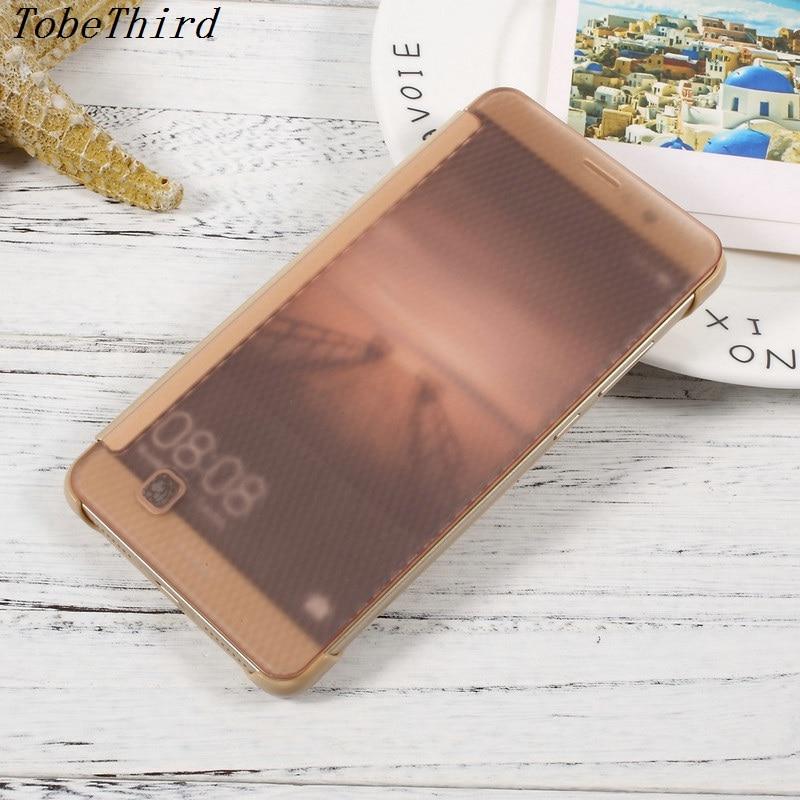 Для Huawei Коврики 9 чехол оригинальные полупрозрачные <font><b>Smart</b></font> View кожа флип чехол для телефона Huawei Коврики 9