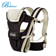New Beth Bear 0-30 Months Breathable Front Facing Baby Carrier 4 in 1 Infant Comfortable Sling Backpack Pouch Wrap Baby Kangaroo
