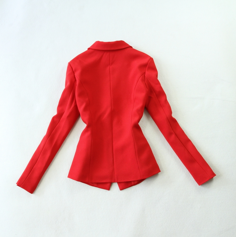 Red Blazers Feminino Red Two Piece Fashion Summer 2019 Tuxedos Suits For Wedding Outfit