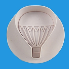 4pcs/set Hot Air Balloon Cookie Cutters Biscuit Mold Fondant Sugarcraft Embossing Moulds Confectionery cake decorating tools