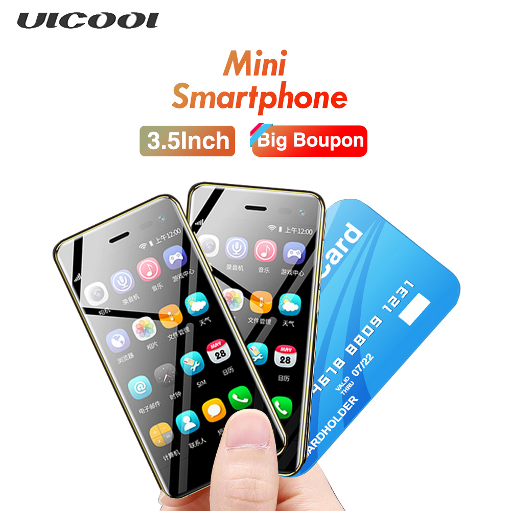 2019 Mini mobile phone U2 Android 8.1 Google Play 3.15Inch Screen MTK6739 1GB 8GB 5MP 4G Smart phone-in Mobile Phones from Cellphones ...
