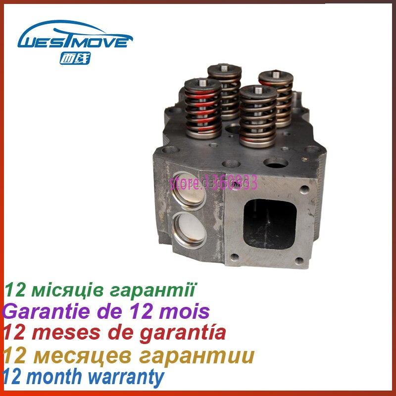 complete cylinder head Assy Assembly Assembled for Cummins Engine : K19 KTA19 KTA19D2 19000CC 19.0 D 19.0D 3811985
