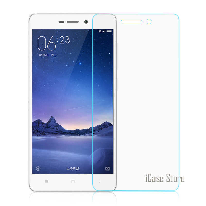 For Xiaomi Redmi 3S Tempered Glass Premium Screen Protector Film For Redmi 3 S Hongmi 3S Pro / Prime 3 9H 2.5D 5.0inch