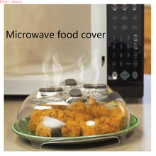new microwave oven food cover Splatter Guard Hover Anti-Sputtering Oil Cap Heated Sealed Plastic Dish Dishes
