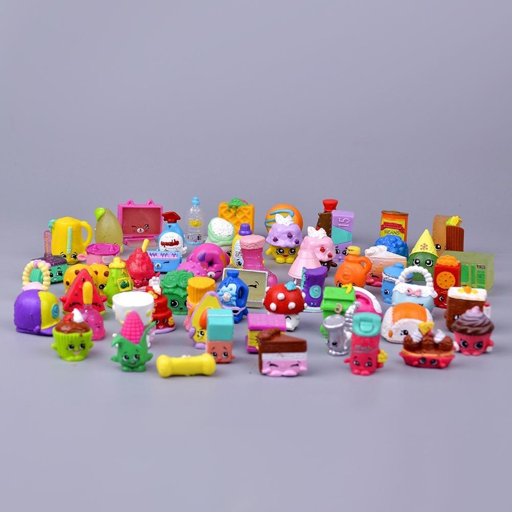 LeadingStar 20pcs Children Mini Fruits Doll Toys Pen Cap Garden Landscaping Ornament Play House Game Christmas Gift ZK25
