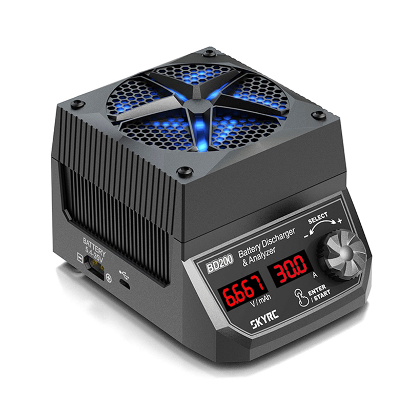 Тестер и разрядка аккумуляторов SKYRC BD200, 200 Вт, 30 А, для LIHV, NIMH батарей|battery discharger|lipo testerlipo battery tester | АлиЭкспресс