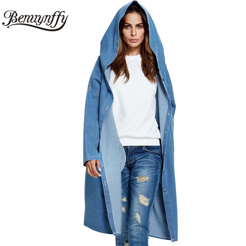 Popular Long Denim Jacket-Buy Cheap Long Denim Jacket lots from ...