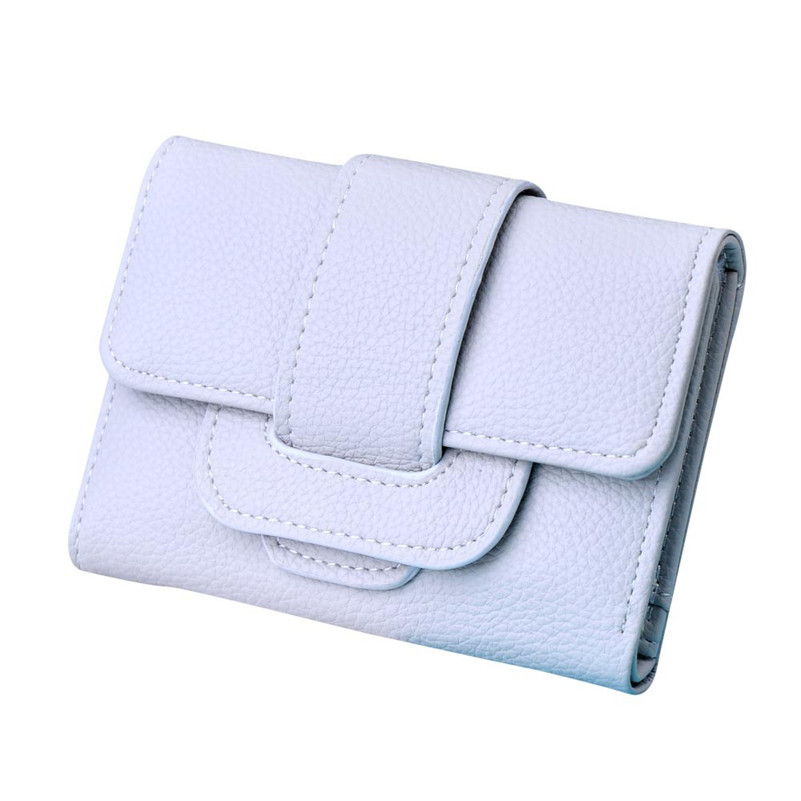 Luxury Brand Women Wallets Lichee Pattern Hasp Coin Purse Short Wallet Card Holders Clutch Famous Designer Lady Vallet Bolsa