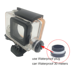 Image 4 - TUYU Diving Waterproof Case Charger Shell With USB Cable for  EKEN H5s H6s  H8R Accessories Motorcycle charging waterproof shell