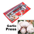 Garlic Presses Kitchen Tool Aluminum Spiralizer Ginger Crusher