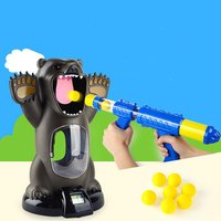 Newest Toys Hungry Bear Electronic Shooting Game Indoor Security Creative Educationl Puzzle Toy For Children Funny