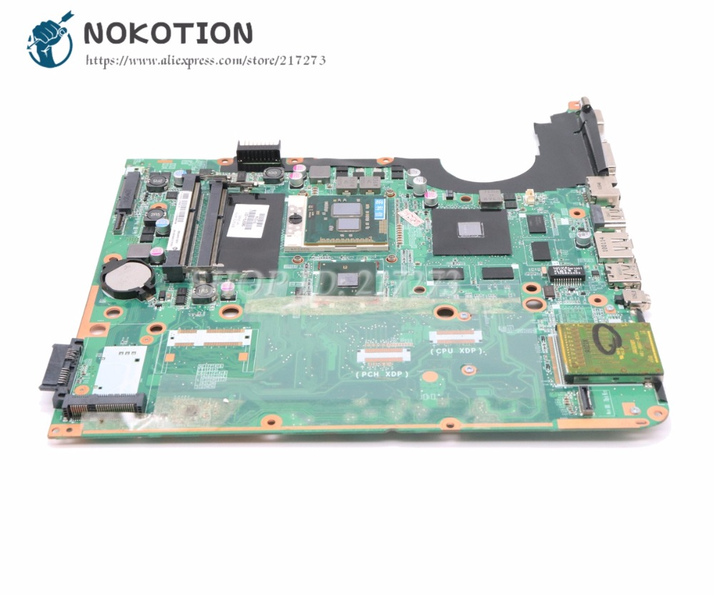 NOKOTION 580974 001 DA0UP6MB6F0 For HP Pavilion DV7 DV7T DV7 2000 Laptop Motherboard GT230M 1GB Free CPU|Motherboards| |  - title=