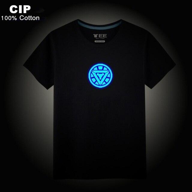 4541141f85e3a CIP 100% Cotton Neon Iron Man T Shirt Kids Children T-shirt Boys Clothes  2017 Brand Baby Boys Girls Tops   Tee With Short Sleeve