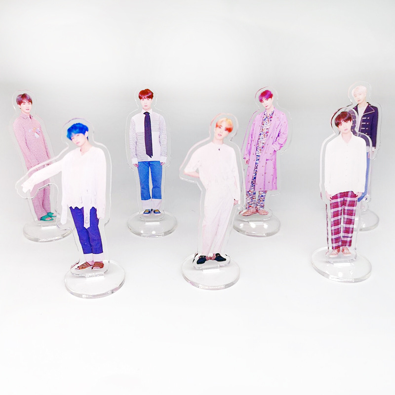 Beads & Jewelry Making Jewelry & Accessories Confident Kpop Got7 Acrylic Standee Figure Doll Jackson Mark Youngjae New Fashion Standing Action Table Desktop Decor