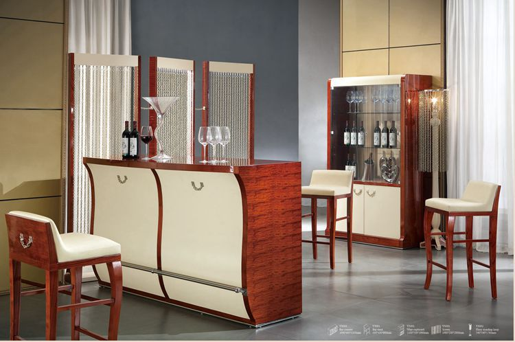 Italian Design Home Furniture Bar Set Table Chair Wine Cabinet Modern Living Room Ys001 Bt In Cabinets From On