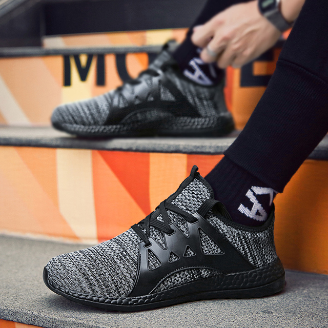 Breathable Tide Lace Up Men's Shoes 1