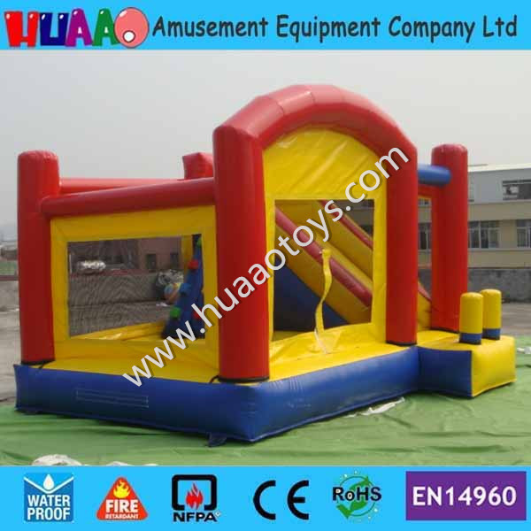 Inflatable Water Slide Repair Kit: Cheap Commercial Inflatable Bouncer Castle With Slide By