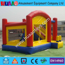 Cheap Commercial Inflatable Bouncer Castle with Slide By DHL to door(blower+repair kit)