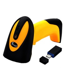 Wireless Barcode Scanner 1D CCD Screen Bar Code Reader 433MHZ Readwr 4Mil For Mobile Payment