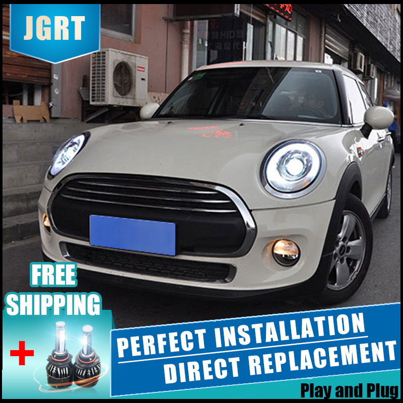 Car Styling For 14 19 Mini F56 cooper headlight assembly For F56 LED head lamp Angel