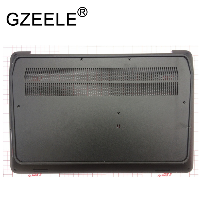 GZEELE New for HP Zbook 17 G3 series Bottom Base Case Cover Assembly 848345-001 lower case black new for hp zbook 15 laptop bottom case base cover black series 734279 001